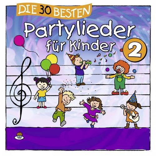 Die 30 besten Partylieder für Kinder 2 von Simone Sommerland, Karsten Glück & die Kita-Frösche