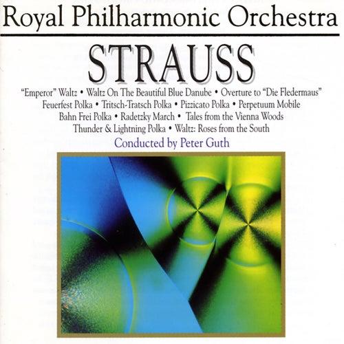 Strauss: Emperor Waltz, Waltz on the Beautiful Blue Danube, Overture to Die Fleidermaus by Royal Philharmonic Orchestra