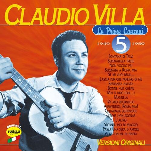La prime canzoni vol.5 by Claudio Villa