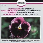 Tchaikovsky: 1812 Overture - Rimsky-Korsakov: Russian Easter Festival - Borodin: Prince Igor - Mussorgsky: Night on Bald Mountain by Various Artists