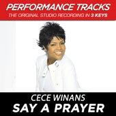 Say A Prayer (Premiere Performance Plus Track) de Cece Winans