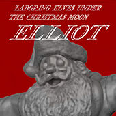 Laboring Lover Elves Under The Christmas Moon by Elliot