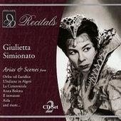 Recitals: Giulietta Simionato by Giulietta Simionato
