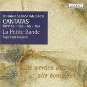 BACH, J.S.: Cantatas, Vol.  4 (Kuijken) - BWV 16, 65, 153, 154 von Jan van der Crabben