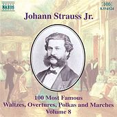 100 Most Famous Works Vol. 8 de Johann Strauss, Jr.