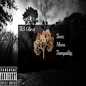 Trees. Moon. Tranquility. de Th3 Ghost