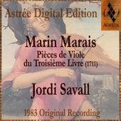 Marin Marais: Pièces De Viole Du Troisième Livre de Jordi Savall
