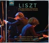 Liszt: 12 Études d'exécution transcendante & Piano Concertos Nos. 1 and 2 by Alessandro Ambrosoli