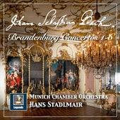 Bach: Brandenburg Concertos Nos. 1-6 by Münchener Kammerorchester