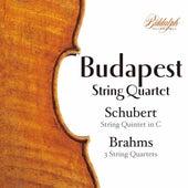 Brahms Complete String Quartets 1 - 3 & Schubert String Quintet D956 von Budapest Quartet