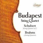 Brahms Complete String Quartets 1 - 3 & Schubert String Quintet D956 by Budapest Quartet