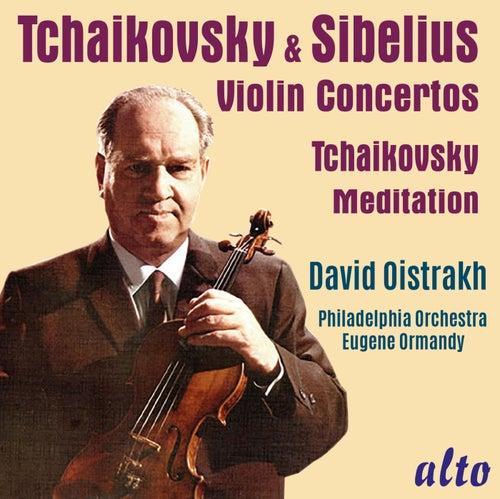 Tchaikovsky & Sibelius Violin Concertos by David Oistrakh