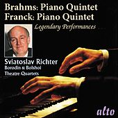 Brahms: Piano Quintet Op.34 & Franck: Piano Quintet by Sviatoslav Richter