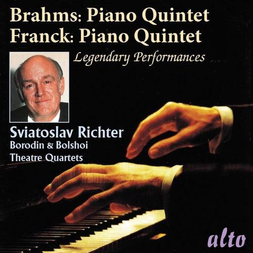 Brahms: Piano Quintet Op.34 & Franck: Piano Quintet de Sviatoslav Richter