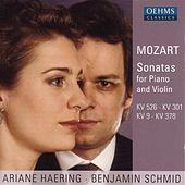 MOZART: Violin Sonatas Nos. 4, 18, 26 and 35 by Benjamin Schmid