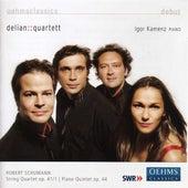 SCHUMANN, R.: String Quartet No. 1 / Piano Quintet in E flat major (Delian::Quartet) by Igor Kamenz