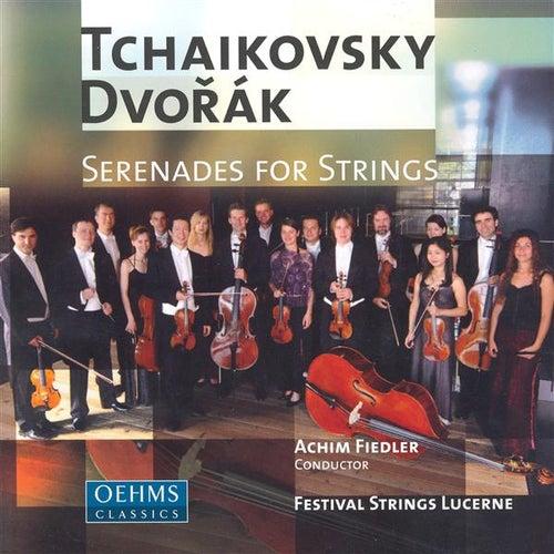 TCHAIKOVSKY / DVORAK: Serenades for Strings by Achim Fiedler