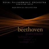 Beethoven: Piano Sonatas - Pathétique, Tempest & Moonlight by Cristina Ortiz