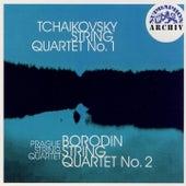 Tchaikovsky: String Quartet No. 1 in D major, Op.11, Borodin: String Quartet No. 2 in D major by Prague String Quartet