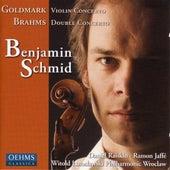 GOLDMARK: Violin Concerto No. 1 / BRAHMS: Double Concerto for Violin and Cello by Benjamin Schmid