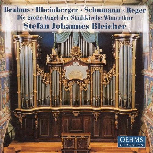 BRAHMS / RHEINBERGER / SCHUMANN / REGER: Organ Works by Stefan Johannes Bleicher