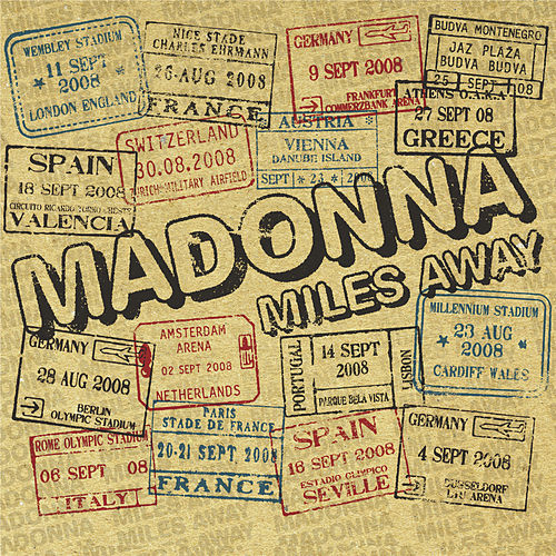 Miles Away - The Remixes by Madonna