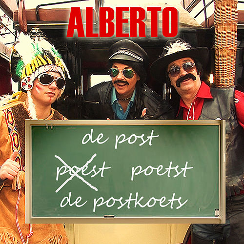 De Post Poetst De Postkoets by alberto