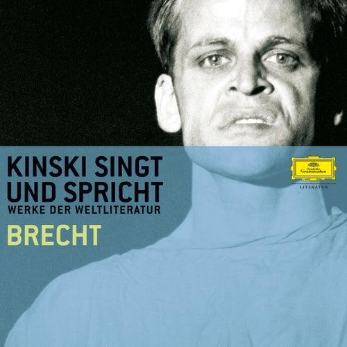 Kinski singt und spricht Brecht von Klaus Kinski