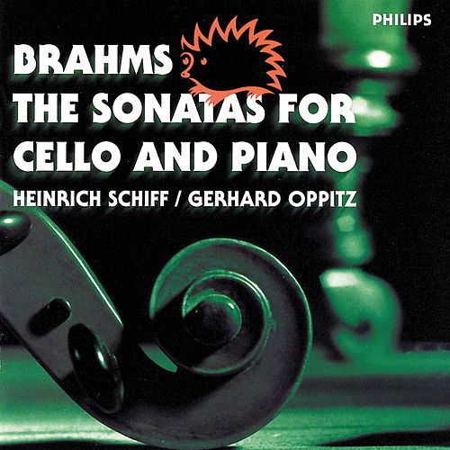 Brahms: The Sonatas for Cello and Piano by Gerhard Oppitz