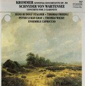 Krommer: Sinfonia Concertante, Op. 80 - Schnyder von Wartensee: Concerto for 2 Clarinets by Various Artists