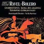 Ravel: Boléro / Glinka: Jota Aragonesa / Tchaikovsky: Capriccio Italien / Chabrier: España by Sir Neville Marriner