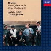 Brahms: Piano Quintet; String Quartet No. 3 by Takács Quartet