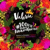#100tete Mas Barranquillero von Martina la Peligrosa, Twister El Rey, Chatella, Mauricio Bernal