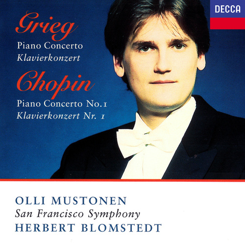 Grieg: Piano Concerto / Chopin: Piano Concerto No. 1 by Herbert Blomstedt