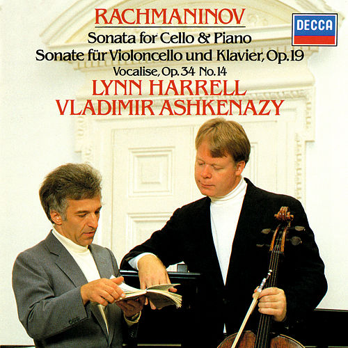 Rachmaninov: Cello Sonata; Romance; Vocalise etc by Vladimir Ashkenazy