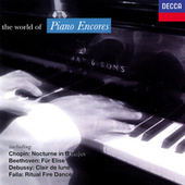 The World of Piano Encores de Various Artists