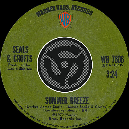 Summer Breeze / East Of Ginger Trees [Digital 45] by Seals and Crofts
