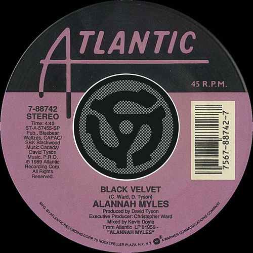 Black Velvet / If You Want To [Digital 45] by Alannah Myles