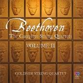 Beethoven: The Complete String Quartets, Vol. 2 by Goldner String Quartet