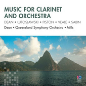 Music For Clarinet And Orchestra by Richard Mills