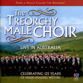 Live In Australia de Treorchy Male Choir