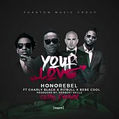 Your Love (feat. Charly Black, Pitbull & Bebe Cool) [Herbert Skillz Club Remix] - Single de Honorebel