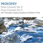 Prokofiev: Piano Concerto No. 2, Piano Concerto No. 3 by János Fürst