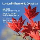 Mozart: Piano Concerto No. 20 - Rachmaninoff: Piano Concerto No. 2 (Live) by Aldo Ciccolini