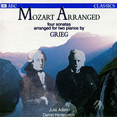 Mozart Arranged: Four Sonatas Arranged For Two Pianos By Grieg by Various Artists