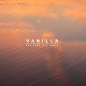 For What It's Worth von Vanilla