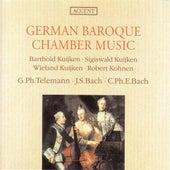 Chamber Music (German Baroque) - BACH, J.S. / TELEMANN, G.P. / BACH, C.P.E. (Kuijken, Kohnen) von Sigiswald Kuijken