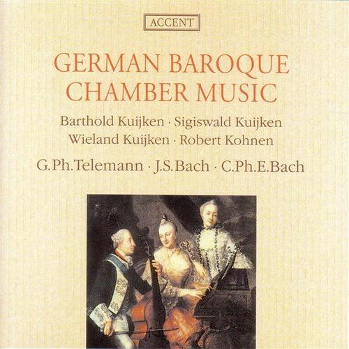 Chamber Music (German Baroque) - BACH, J.S. / TELEMANN, G.P. / BACH, C.P.E. (Kuijken, Kohnen) by Sigiswald Kuijken