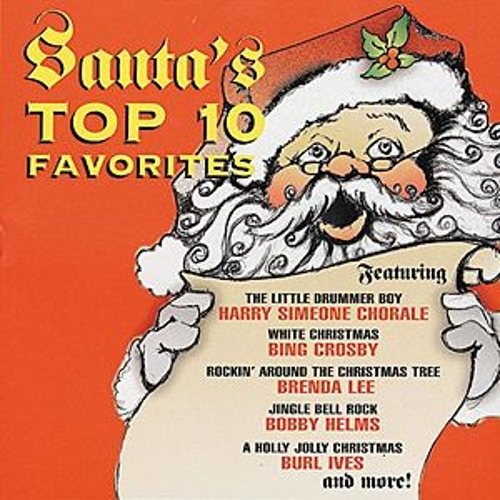 Santa's Top 10 Favorites by Various Artists