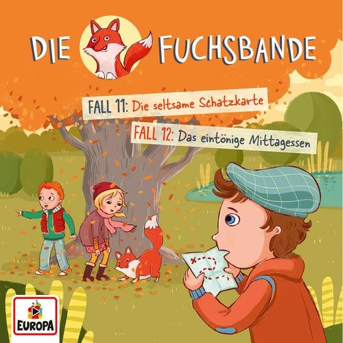 006/Fall 11: Die seltsame Schatzkarte/Fall 12: Das eintönige Mittagessen von Die Fuchsbande